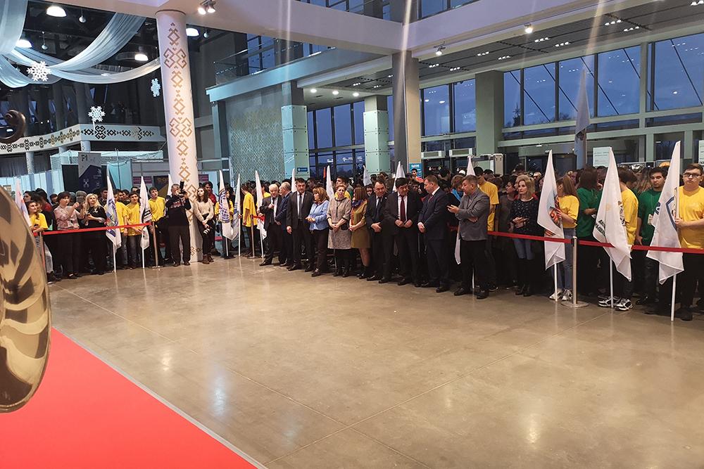 Торжественное открытие Открытого чемпионата молодых профессий (Worldskills Russia) в Республике Башкортостан